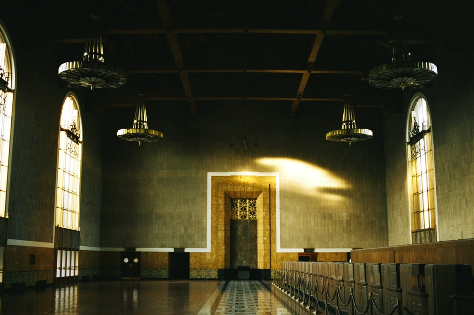 Website graded-38 - Union Station. LA. 35mm Portra 400