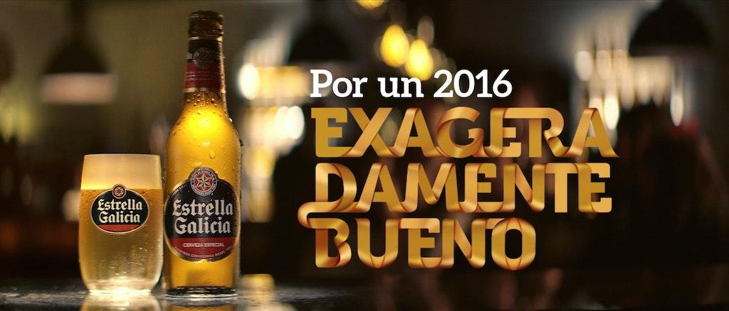 """Estrella Galicia """"Por un 2016 exageradamente bueno"""""""