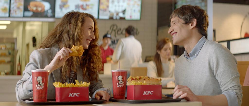 """KFC """" No le des mas vueltas"""""""