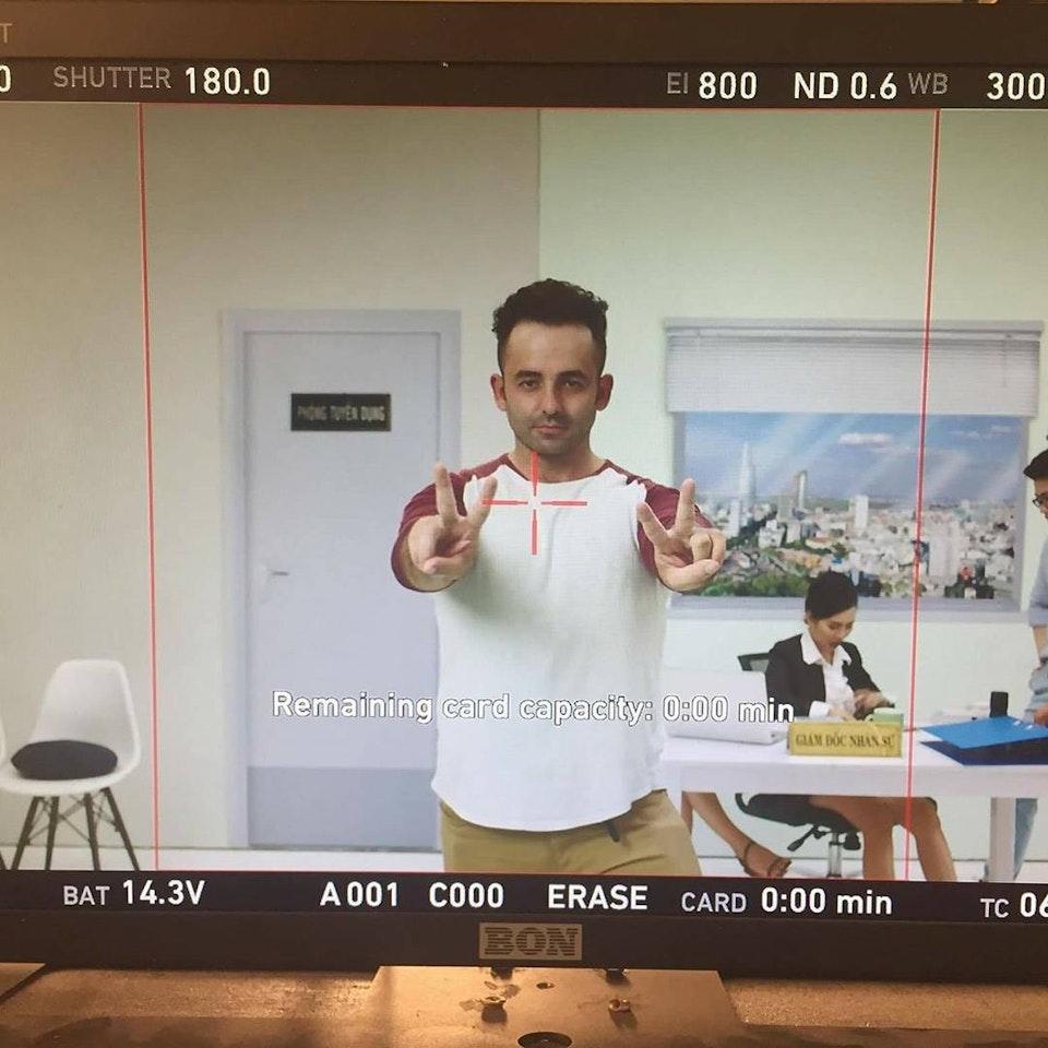 .LOUIS CORALLO : DIRECTOR / CINEMATOGRAPHER - ABOUT ME