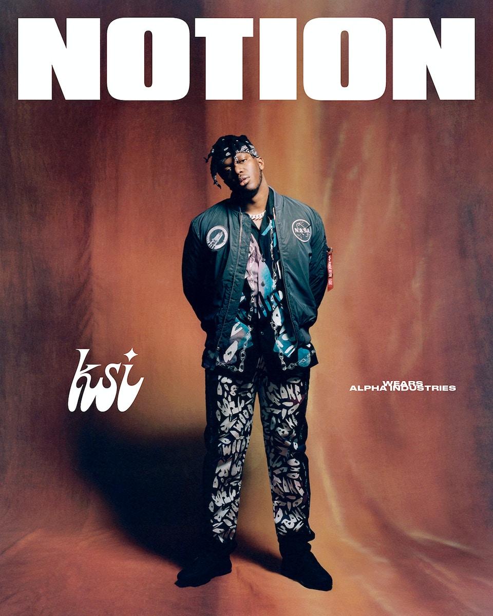 Notion Magazine x KSI