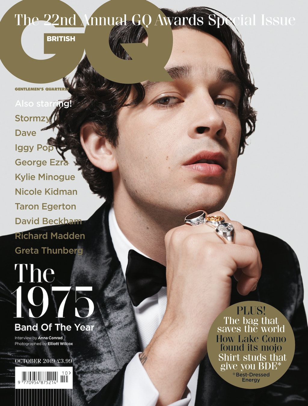 GQ Magazine - Matt Healy - The 1975