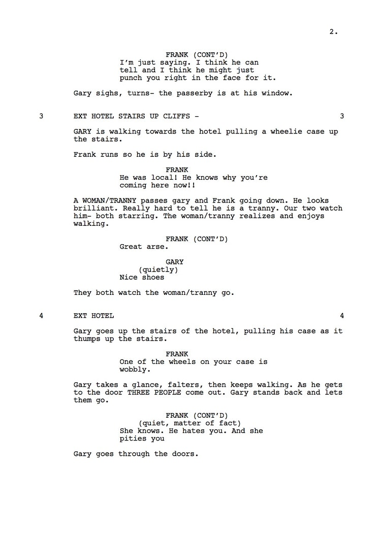 Mr Understood 23rd Shooting Script p3