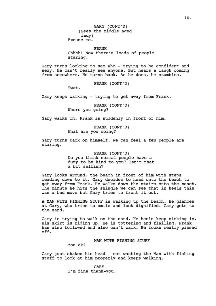 Mr Understood 23rd Shooting Script p11