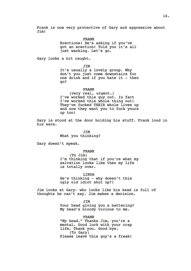 Mr Understood 23rd Shooting Script p15