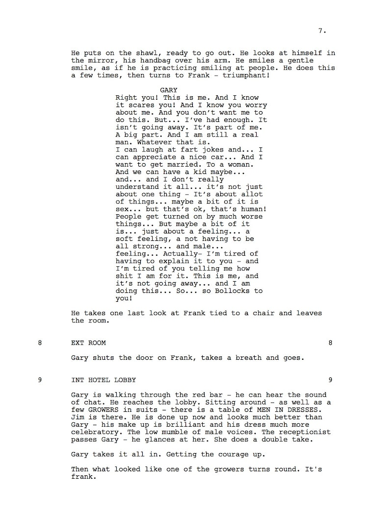 Mr Understood 23rd Shooting Script p8