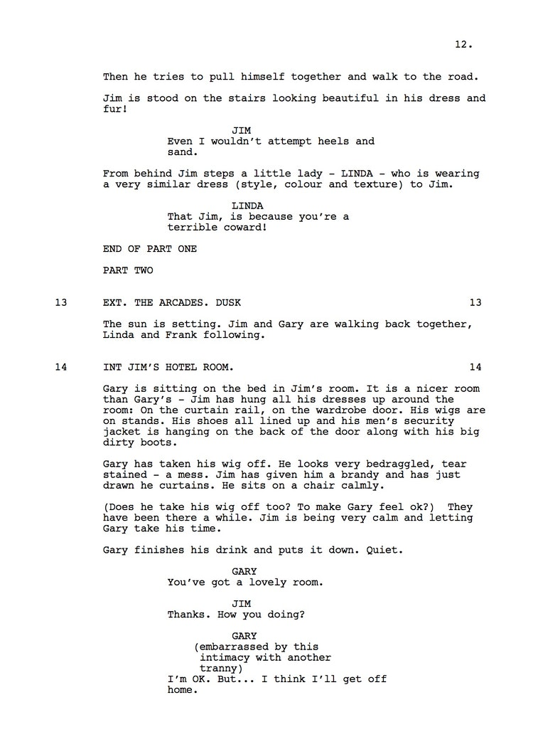 Mr Understood 23rd Shooting Script p13