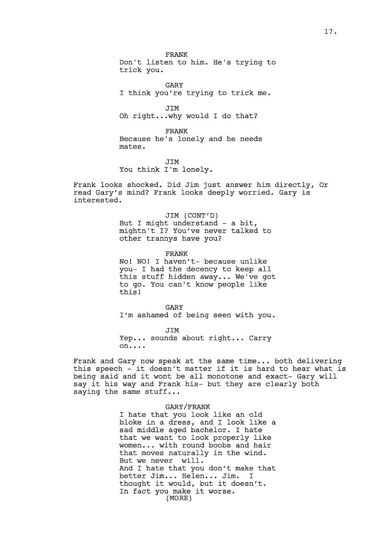 Mr Understood 23rd Shooting Script p18