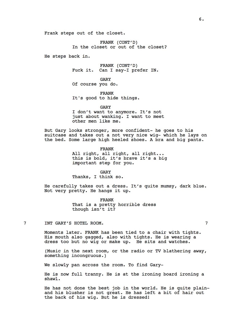 Mr Understood 23rd Shooting Script p7