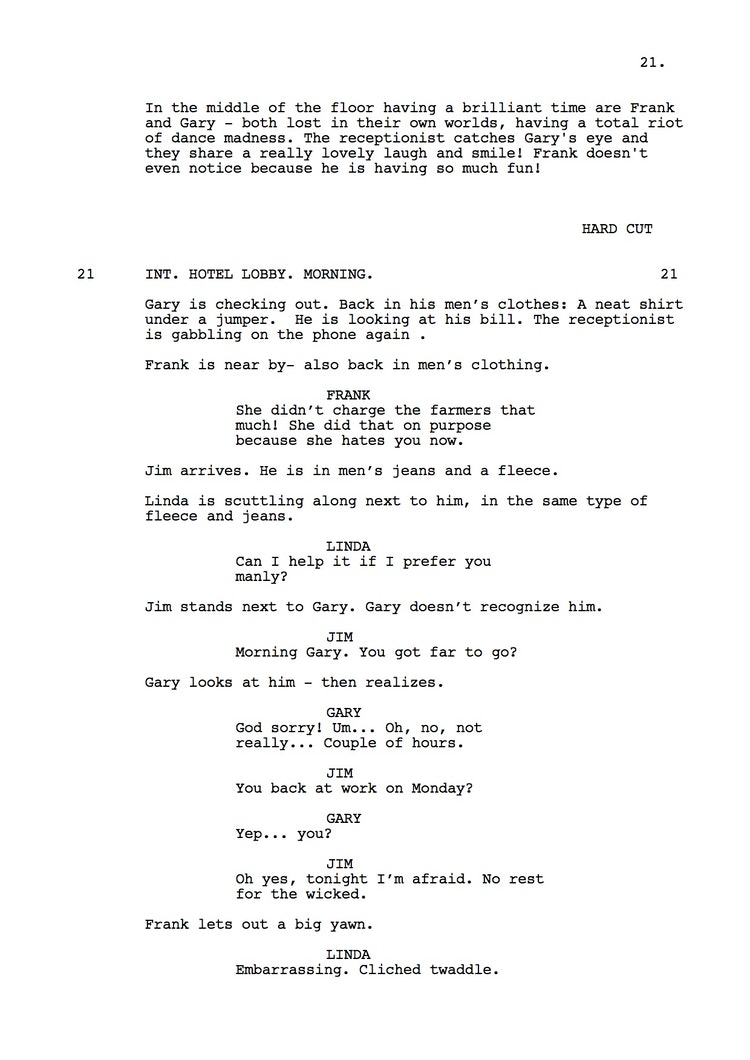Mr Understood 23rd Shooting Script p22