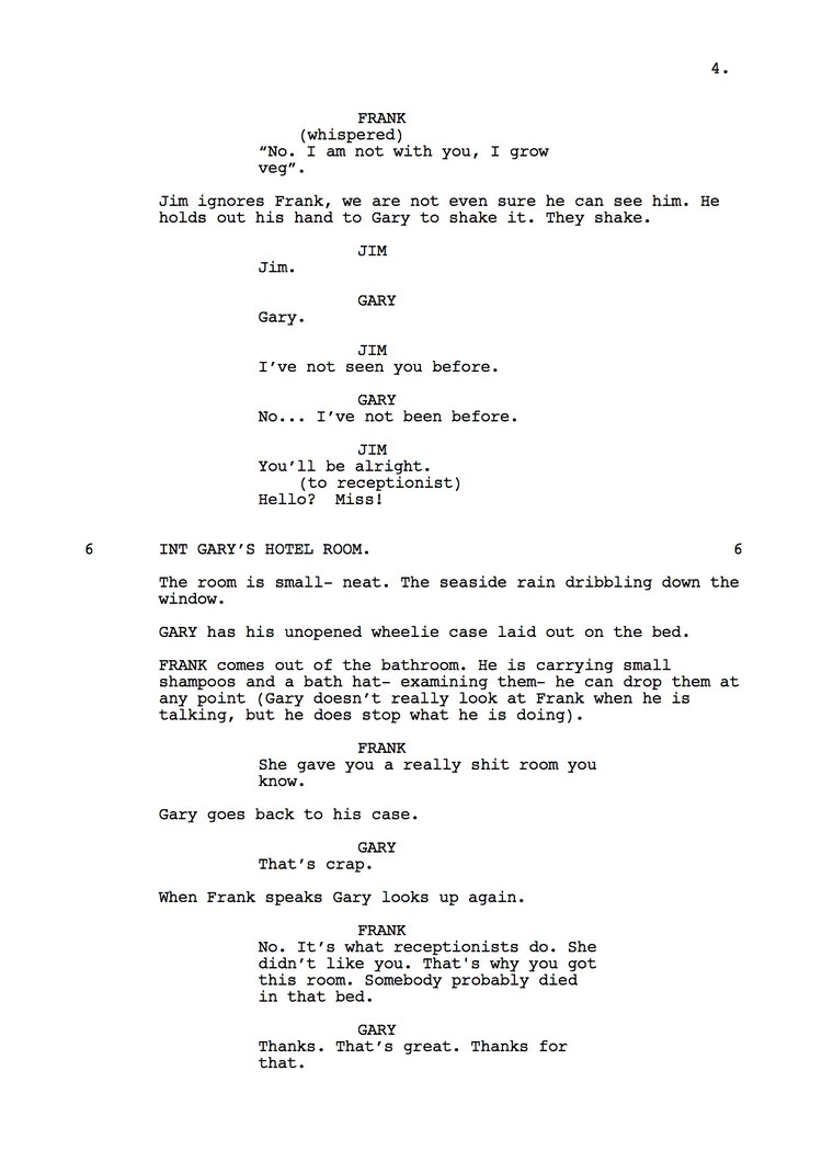 Mr Understood 23rd Shooting Script p5