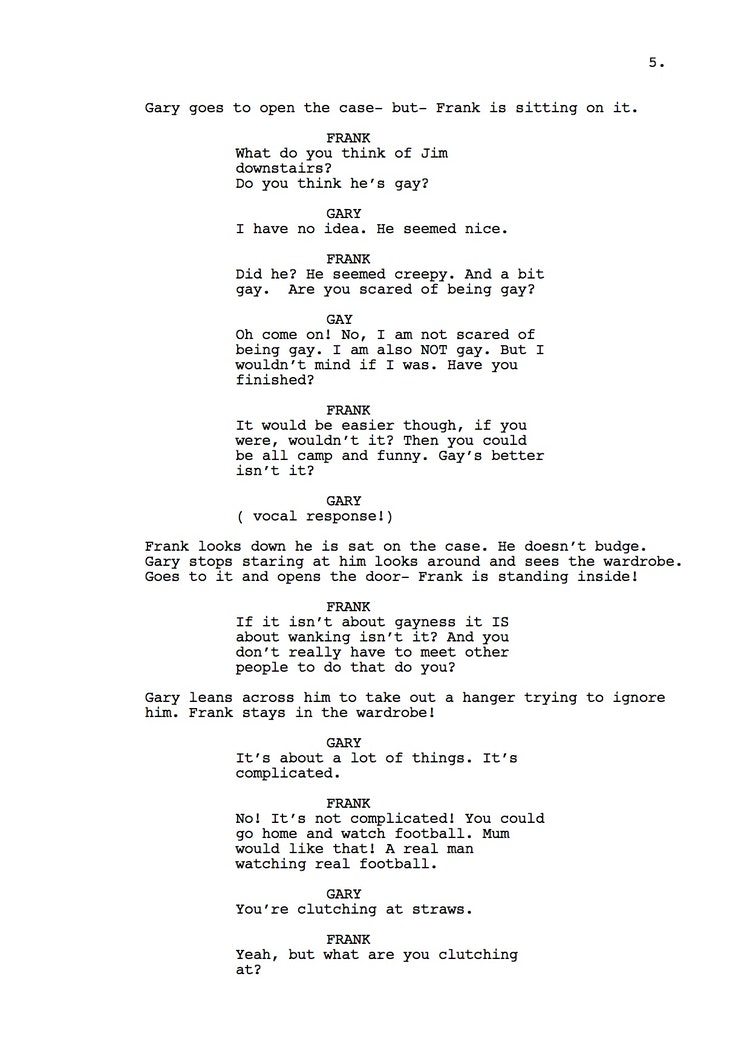 Mr Understood 23rd Shooting Script p6