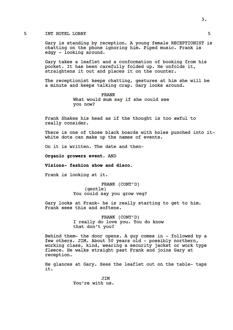 Mr Understood 23rd Shooting Script p4