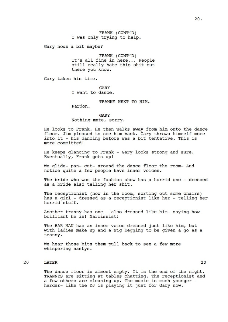 Mr Understood 23rd Shooting Script p21