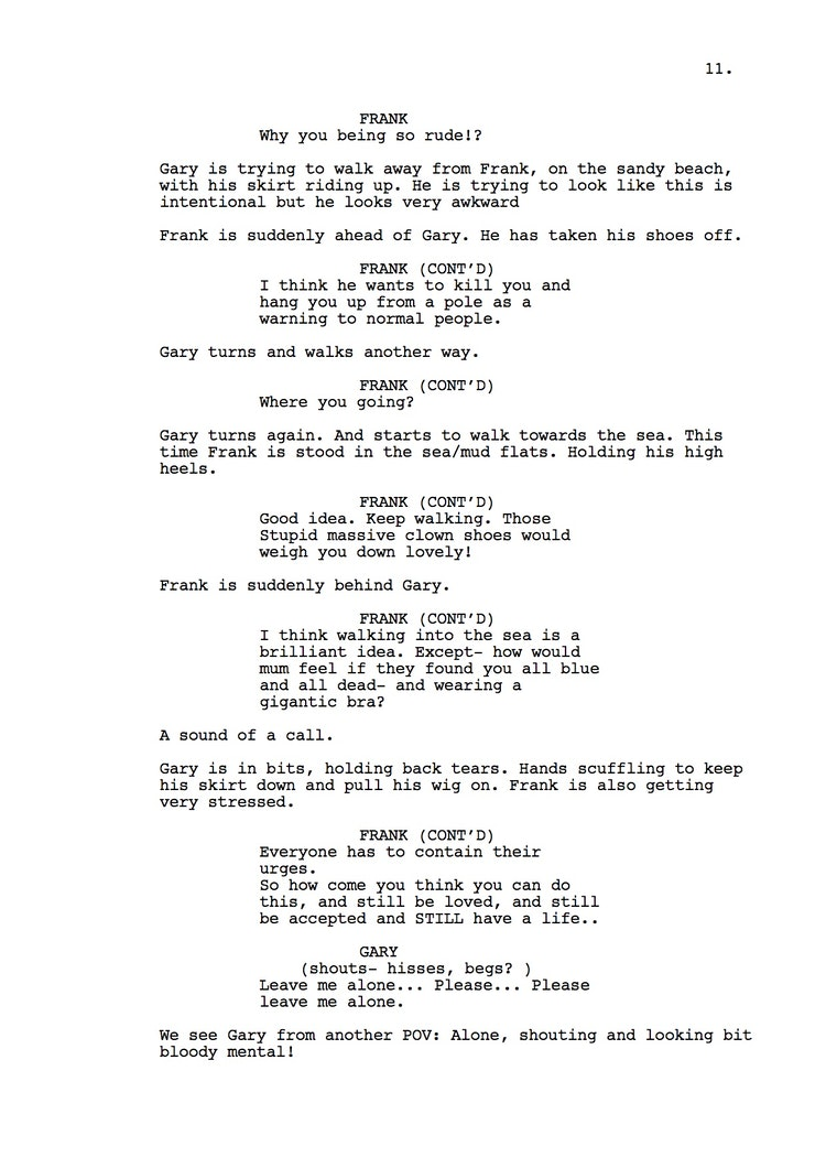 Mr Understood 23rd Shooting Script p12