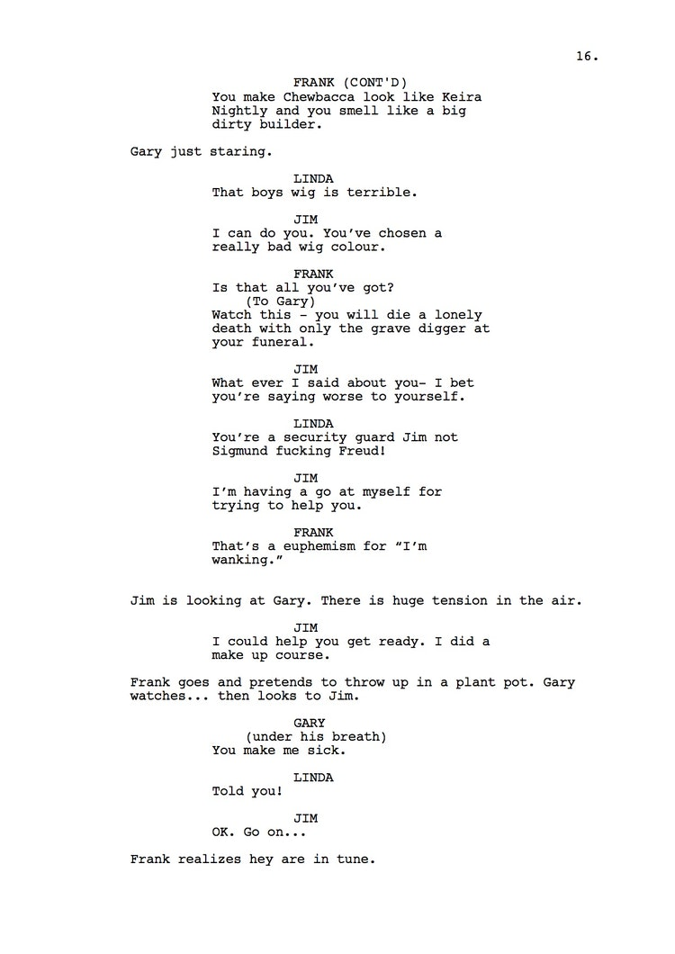 Mr Understood 23rd Shooting Script p17