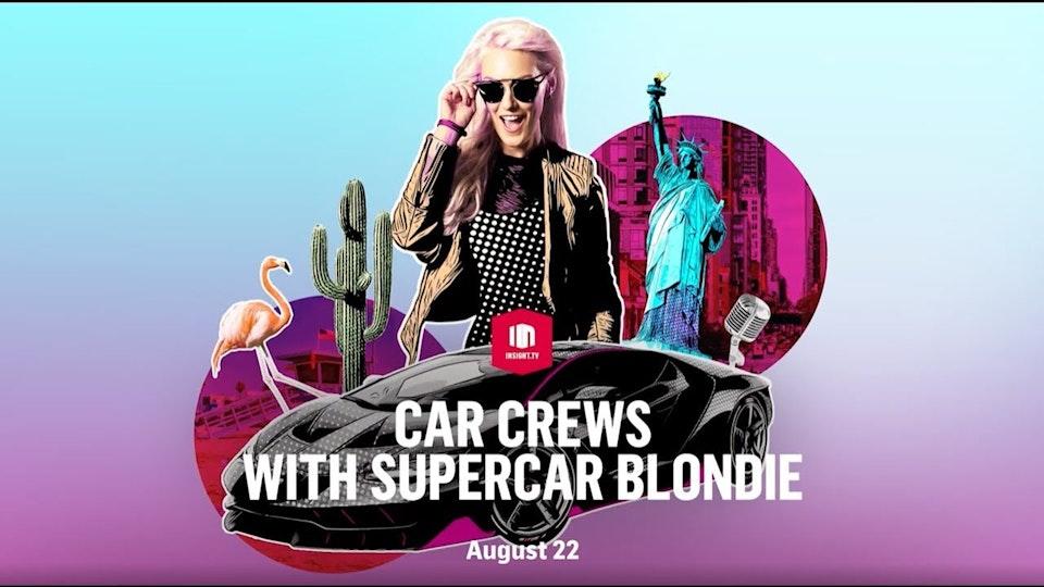 Car Crews with Supercar Blondie -