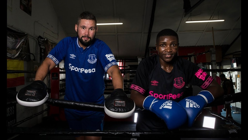 Zarika and Bellew: When two great champions meet!