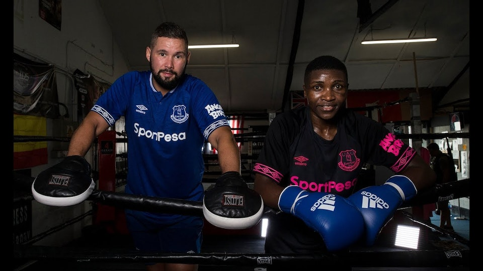 Zarika and Bellew: When two great champions meet! -