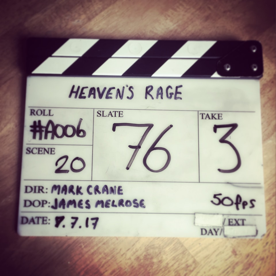 That's a wrap on block 1 of 'Heaven's Rage'