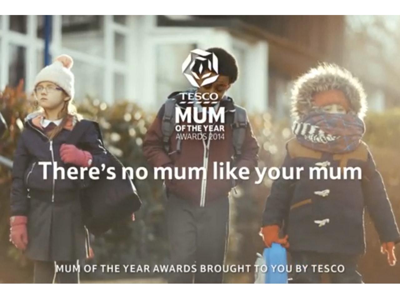 TESCO - MUM OF THE YEAR