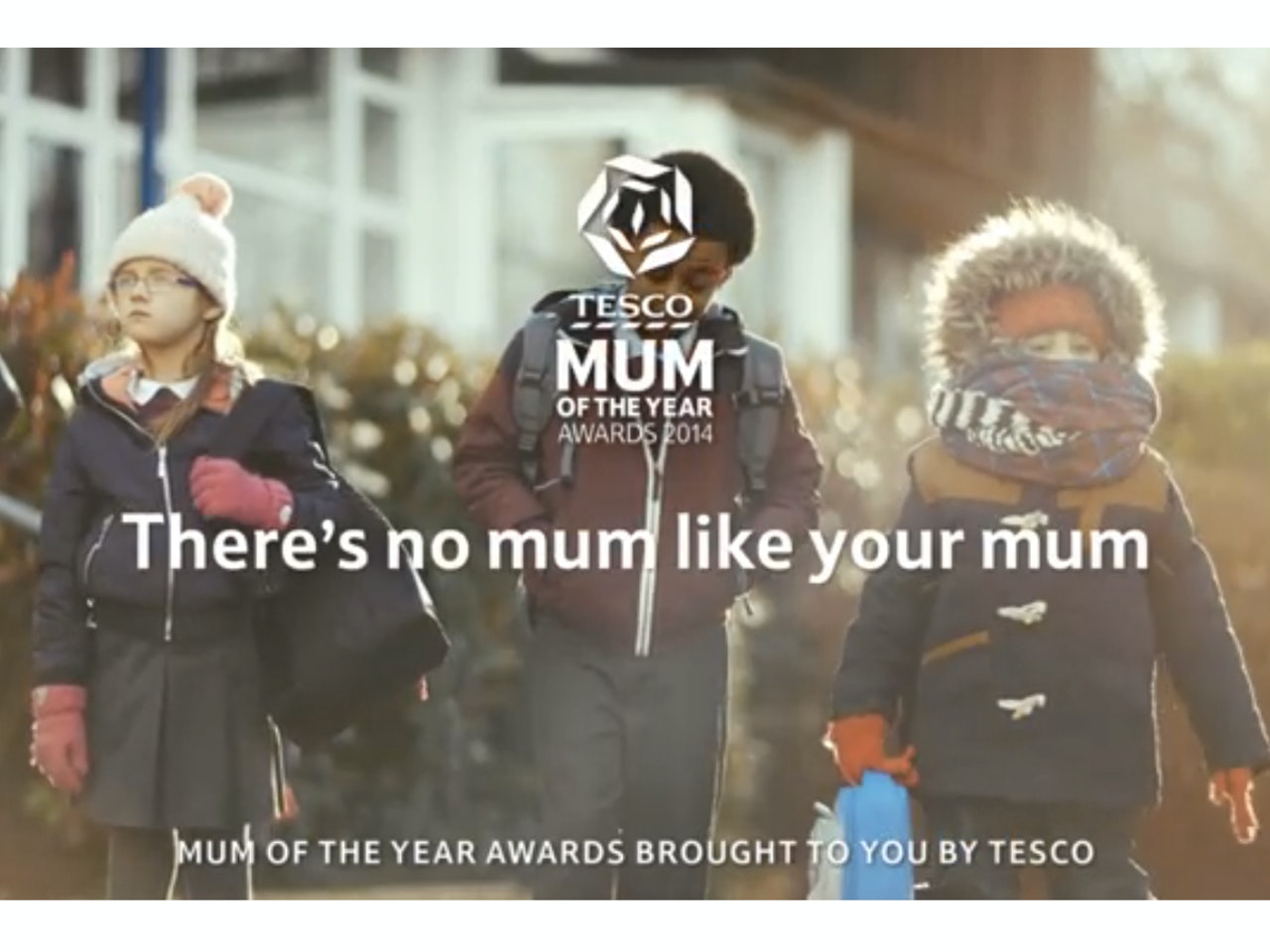 TESCO - MUM OF THE YEAR
