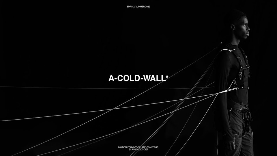 A-Cold-Wall* SS22 Campaign Film