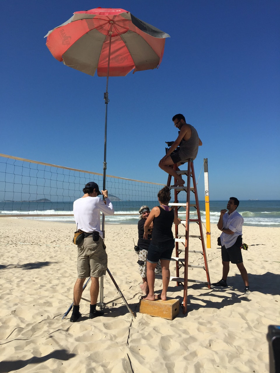 DOP Jacob Møller on set in Rio