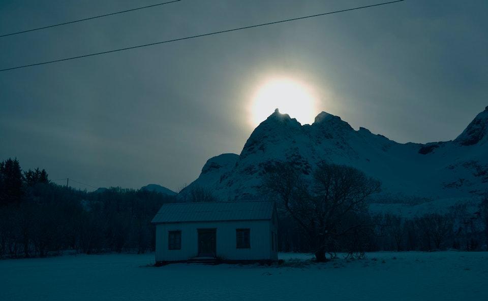 Sunrise in Lofoten