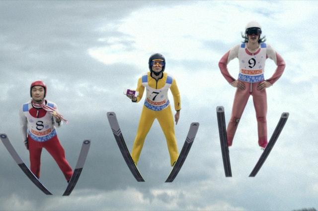 Ski Jumpers Robert Jitzmark 001