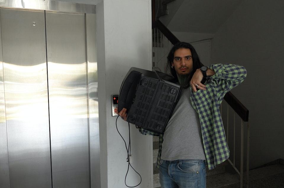 Harrys Pari, Cypriot Eurovision singer, pre-TV death courtesy of Robert Jitzmark.
