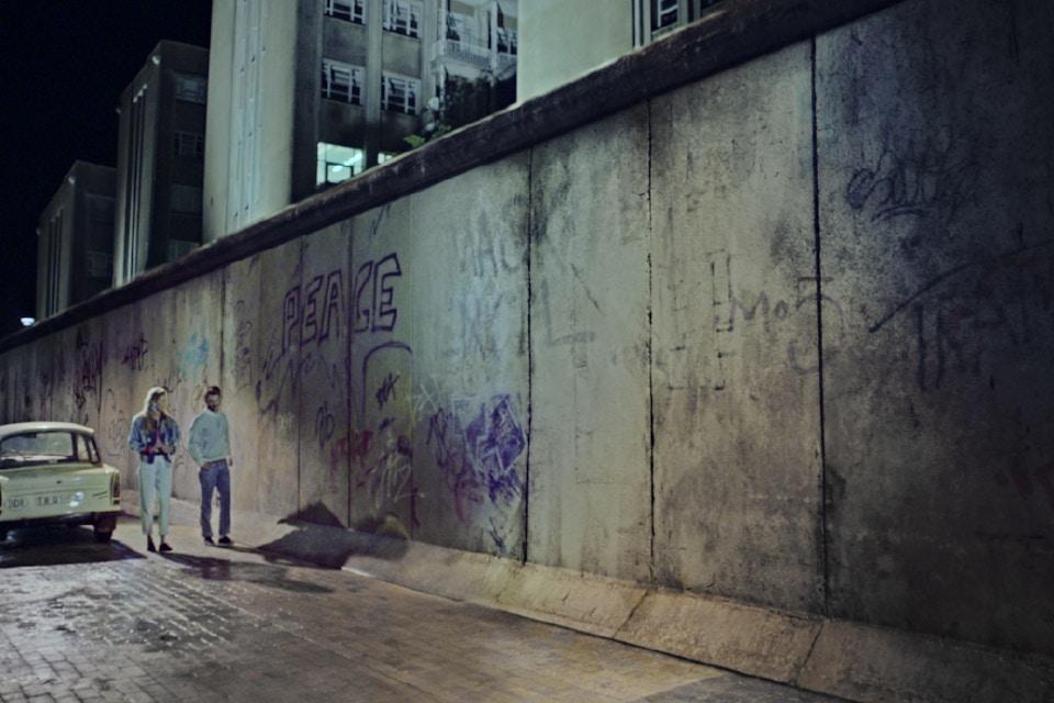 CROP CIRCLE & THE WALL