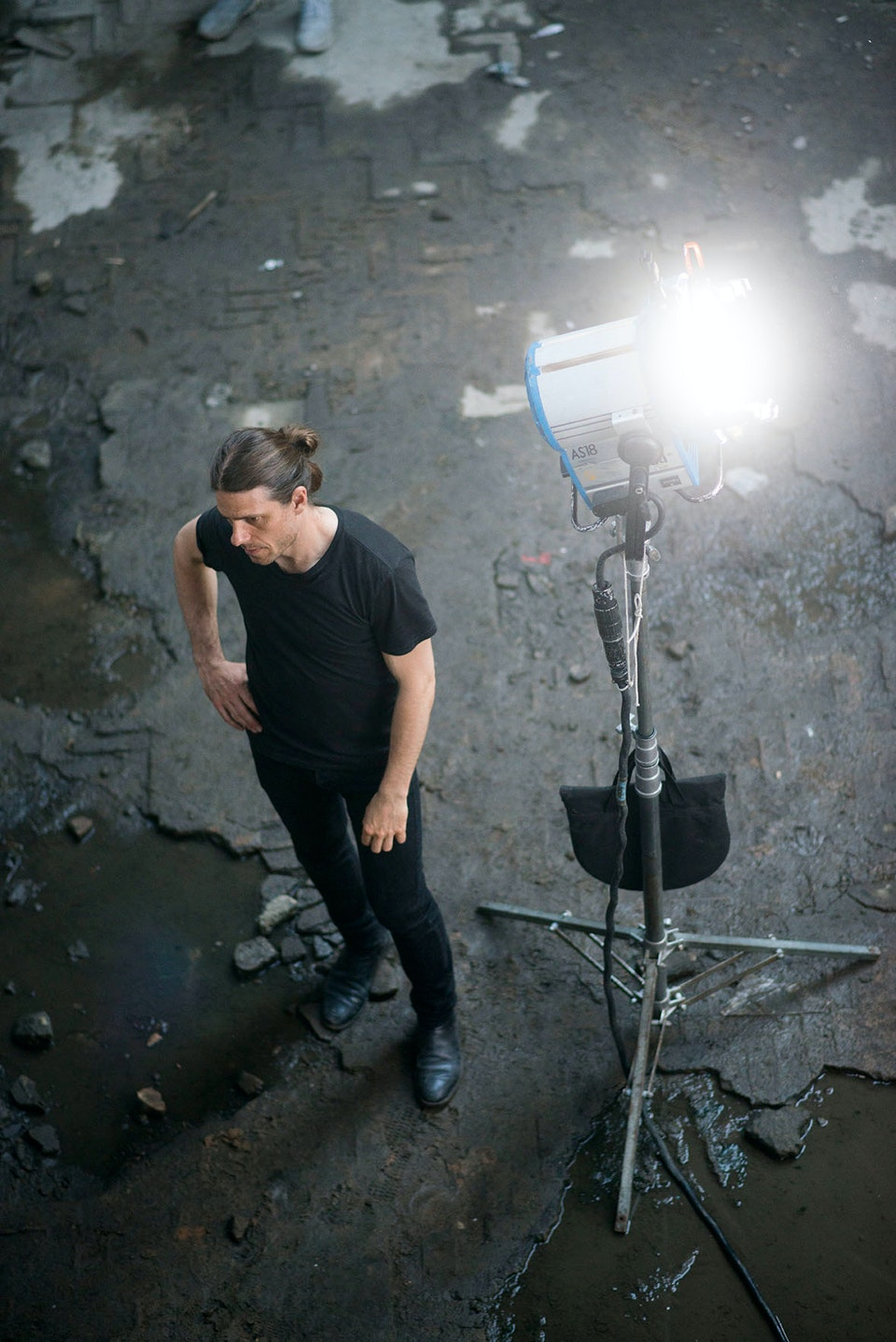 DOP Erik Sohlström on set of XXL in Rio. Photo ©Miguel Blanc/Southwest