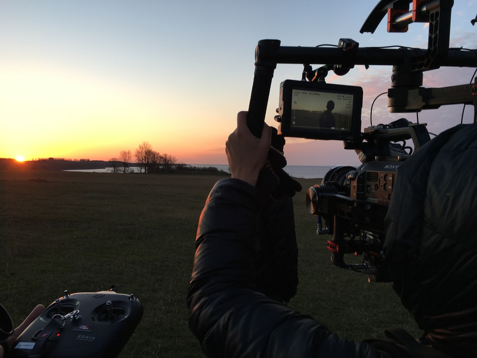 Ronin rig in action on Eurovision shoot with DOP Iga Mikler