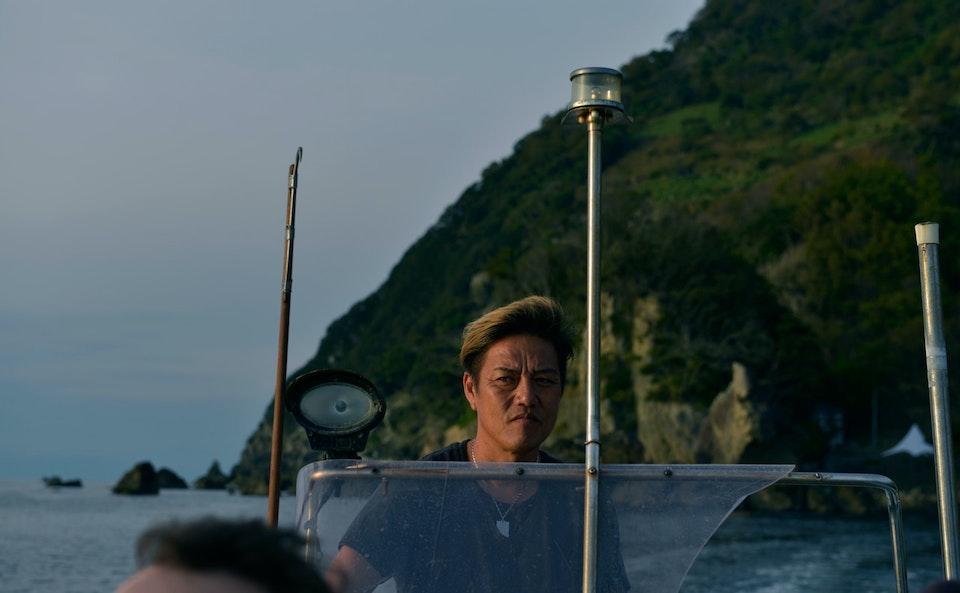Shooting in Azu Islands, Japan for Sony with Oskar Wrangö