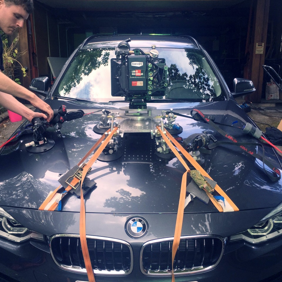 A bit of casual rig action on Oskar's BMW shoot.