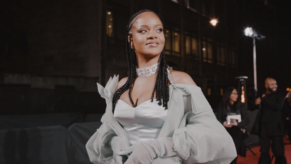 FENTY X BRITISH FASHION AWARDS