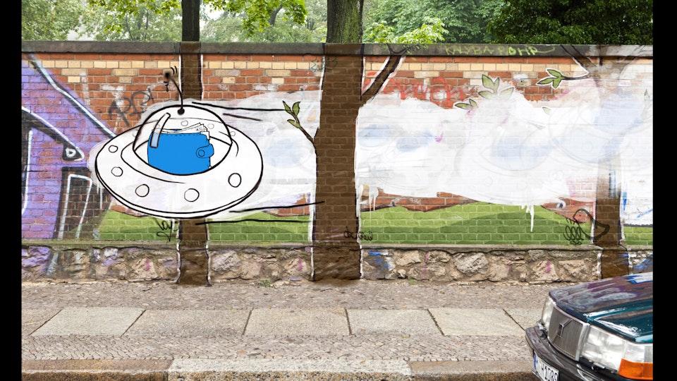 Graffiti wallet -
