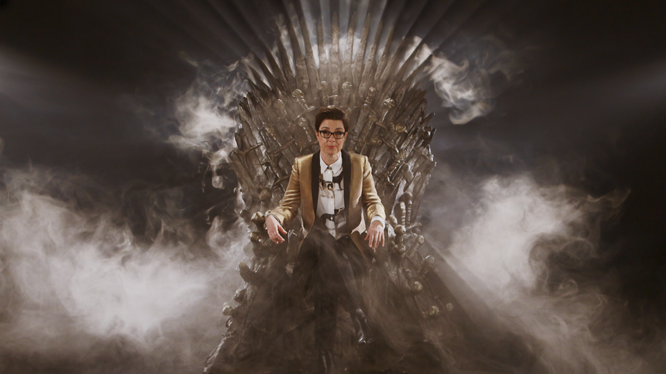 """Game Of Thrones - """"Phil - Huge praise in the viewings for your work - the commissioner couldn't believe the Throne lighting had been achieved without special effects! Beautiful work.'"""
