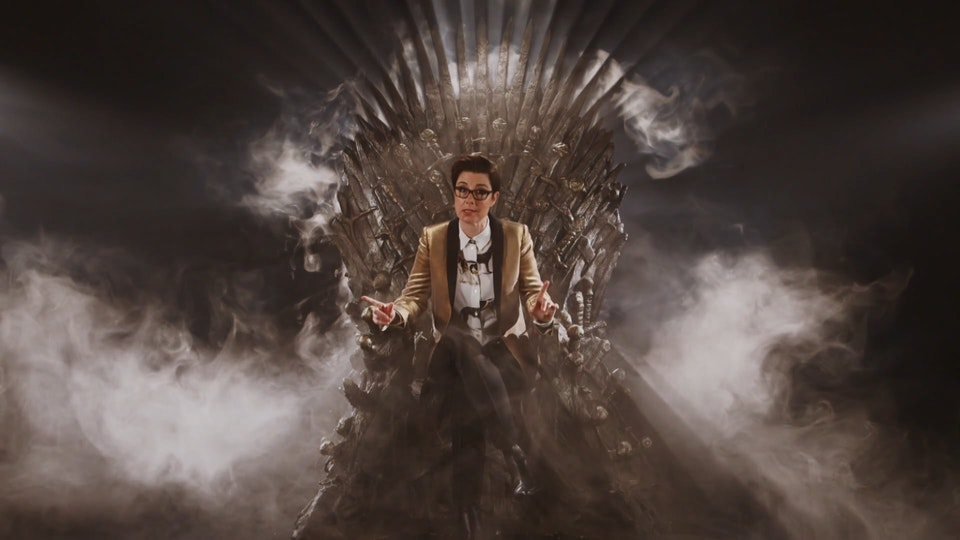 """'Game Of Thrones' - Links - """"Phil - Huge praise in the viewings for your work - the commissioner couldn't believe the Throne lighting had been achieved without special effects! Beautiful work.'"""