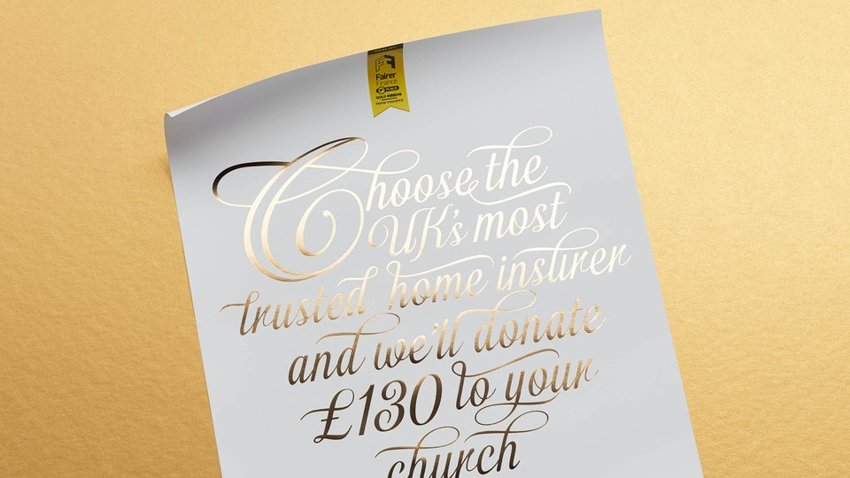 Ecclesiastical Insurance Poster