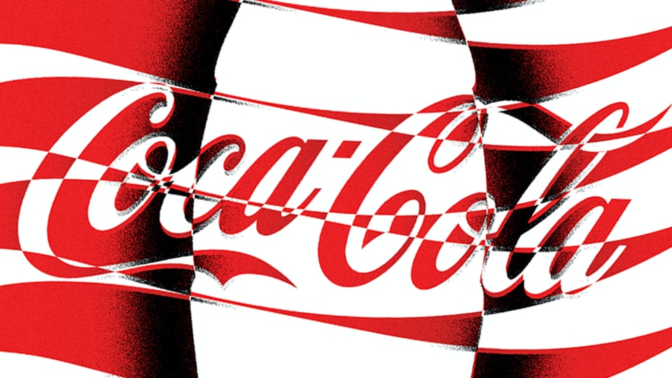Coke 100 Years Poster