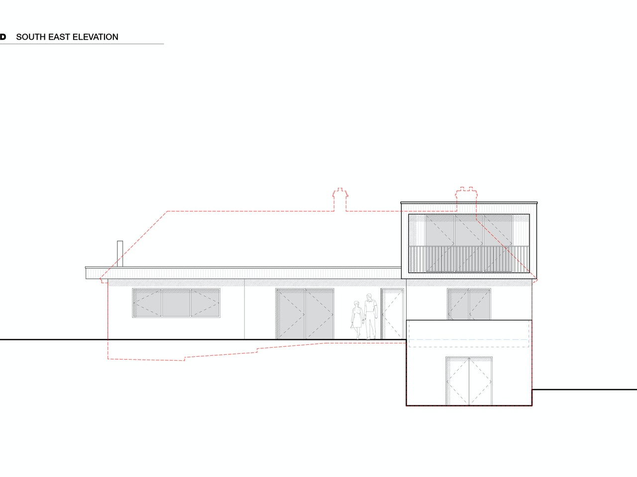 02 - south east elevation