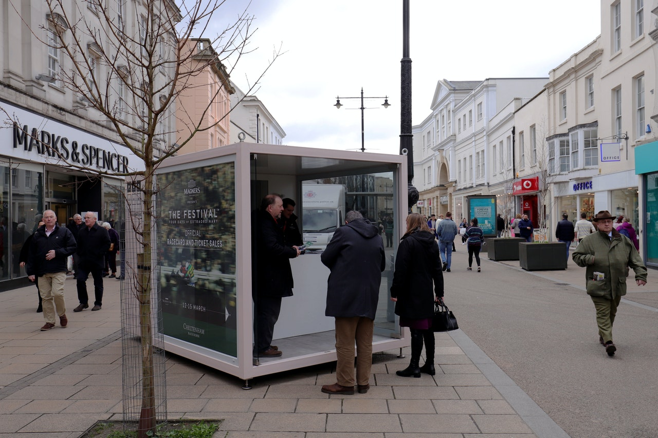 PODS in Cheltenham for The Festival 2019