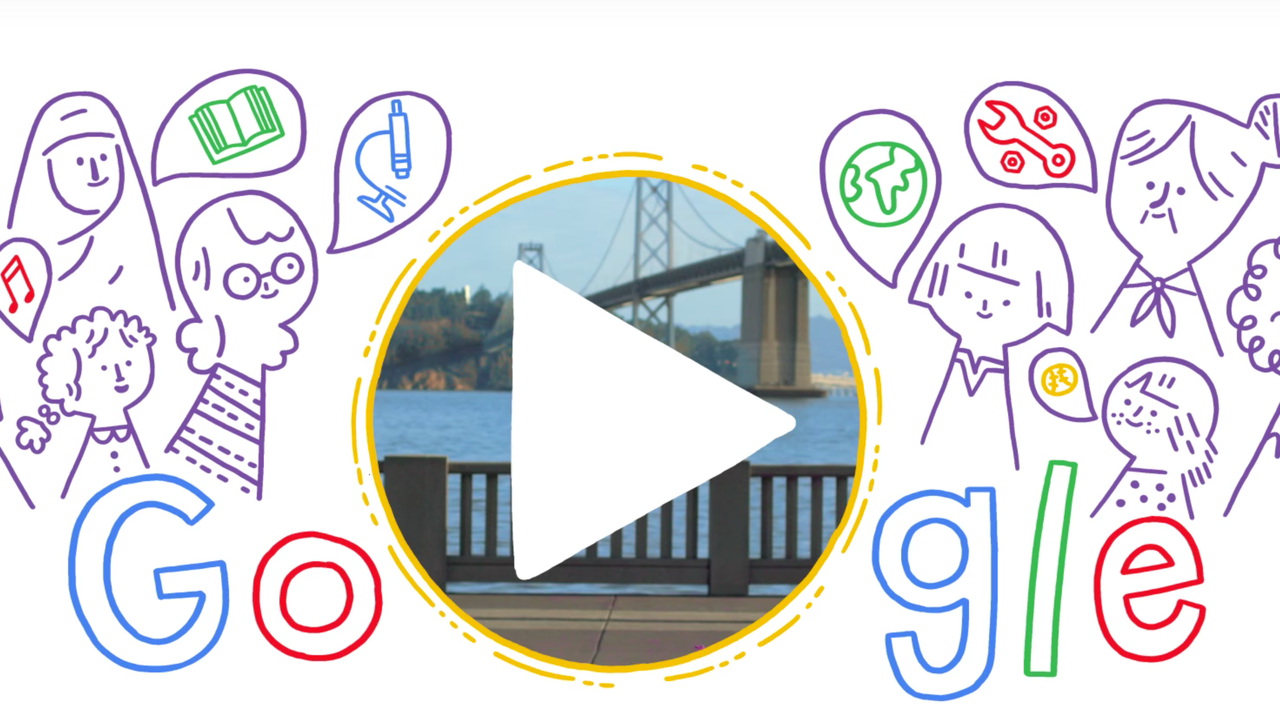 Google Doodle - International Women's Day