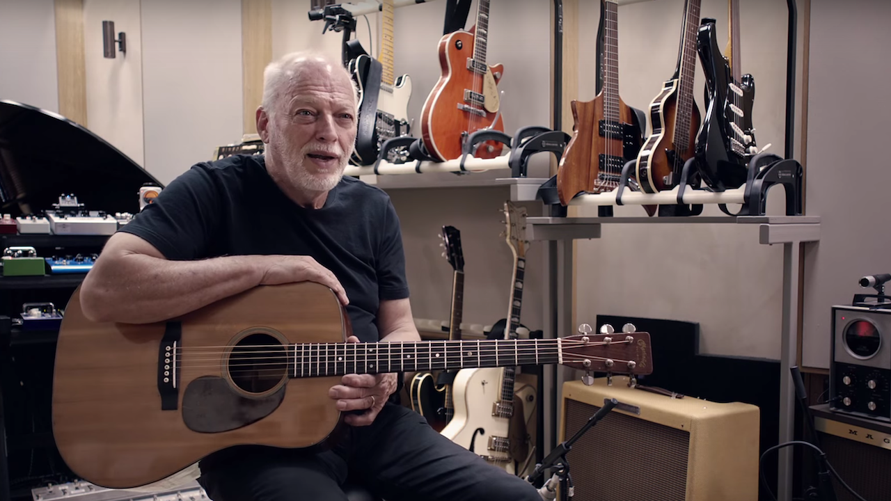 David Gilmour for Spotify