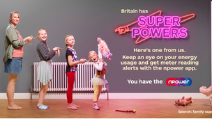 "npower - ""Family Super Powers"""