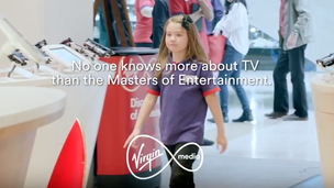 Virgin Media - Kids in store