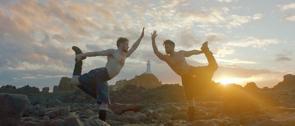 EasyJet & Visit Jersey | Kilted Yoga