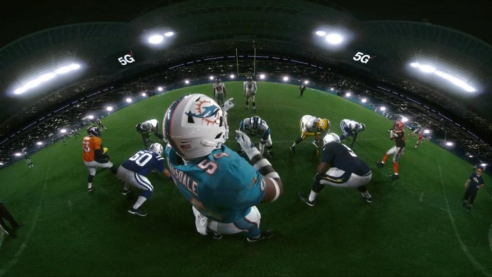 Verizon 5G Stadium - Superbowl LIV
